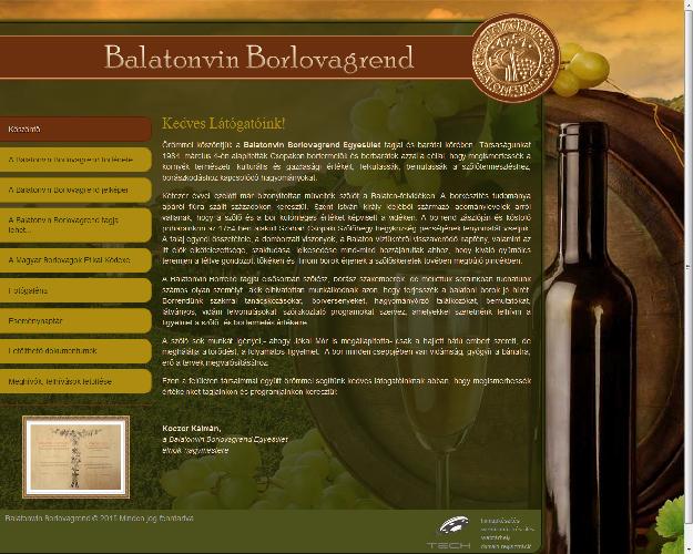 Balatonvin Borlovagrend